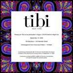 Celebrate Fashion's Night Out at Tibi!