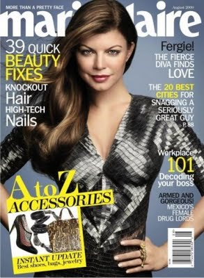 Get The Look: Fergie on the Cover of Marie Claire