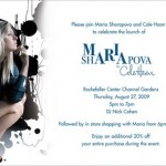 Join Maria Sharapova and Cole Haan to Celebrate the Launch of Maria Sharapova's Collection for Cole Haan