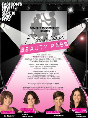 Fashion's Night Out: Benefit