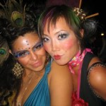 Halloween Hair and Makeup Services at Butterfly Studio Salon