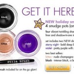 New Stila Smudge Pots for Holiday