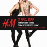 H&M Black Friday Sale