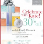 Kate Somerville Friends and Family – 30% Off!