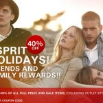 Esprit Friends & Family Sale: 40% Off