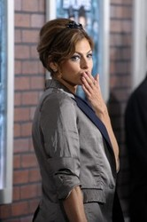 Get The look: Eva Mendes' Hairstyle at the Sherlock Holmes Premiere in New York City