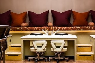 Pampermint Pedicure at Eve Salon