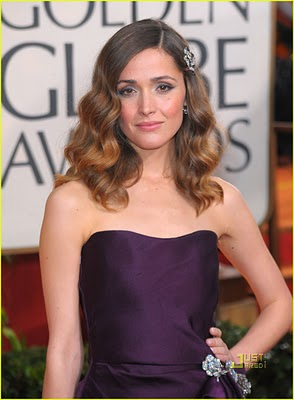 Golden Globes 2010 Beauty: Rose Byrne