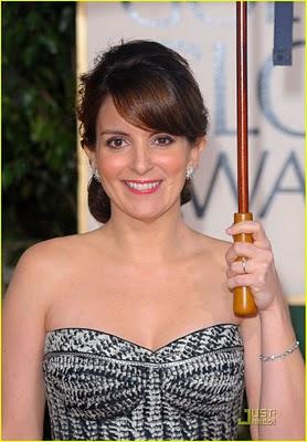 Golden Globes 2010 Beauty: Tina Fey