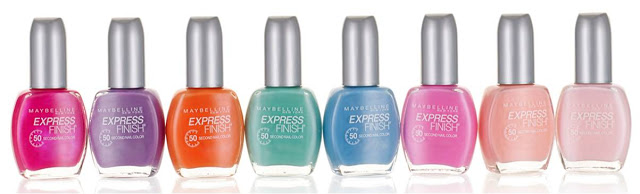 Finest Hour Week: Maybelline Express Finish 50 Second Nail Color Sweet Thing Collection