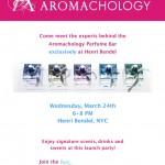 Aromachology Event At Henri Bendel