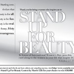 Stand Up For Beauty; Win 50K From COVERGIRL!