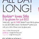 Stila Friday Happy Hour Special!