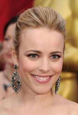Oscars 2010 Hairstyle & Makeup: Rachel McAdams