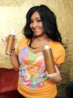 Jersey Shore's Snooki Faux Tans it up With Sunlove XOXO