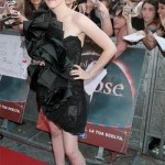 Kristen Stewart Wears Marchesa Dress to Rome Premiere of Eclipse