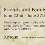 Jurlique Friends & Family Discount