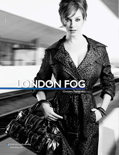Christina Hendricks is the New Face of London Fog