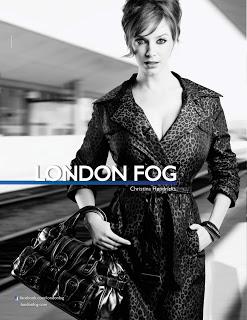Christina Hendricks is the New Face of London Fog