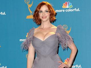 Primetime Emmys 2010 Beauty: Christina Hendricks