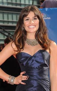 Emmys 2010 Beauty: Lea Michele