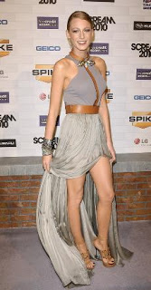 Get The Look: Blake Lively at Spike TV's Scream 2010