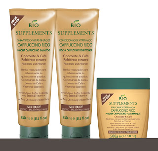 Random Beauty Product from Another Country I'm Irrationally Obsessed With: Bio Supplements Cappuccino Rico Shampoo and Conditioner