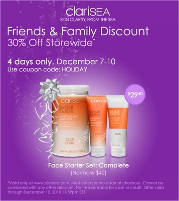 Clarisea Friends and Family Sale