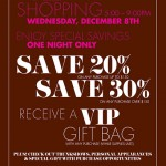 VIP Shopping Event at Henri Bendel