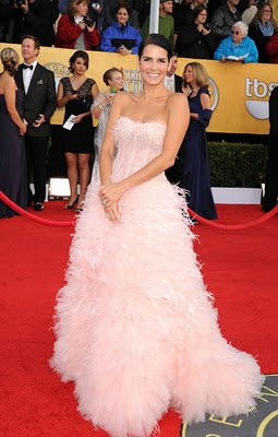 Get The Look: Angie Harmon At The SAGs