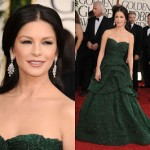 Get The Look: Catherine Zeta Jones At The 2011 Golden Globe Awards