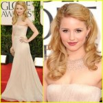 Get The Look: Dianna Agron At The 2011 Golden Globes