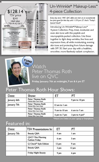 New: Peter Thomas Roth Unwrinkle Makeup Less SPF30