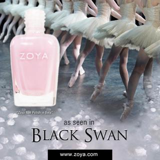 "Zoya Nail Polish in Bela Featured in ""Black Swan"""