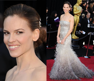 Oscars 2011 Beauty: Hilary Swank's Makeup