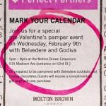 Get Your Molton Brown & Godiva On Tomorrow Night