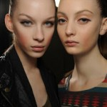 Downturned Eyes And Cheeks Backstage at Marc Jacobs