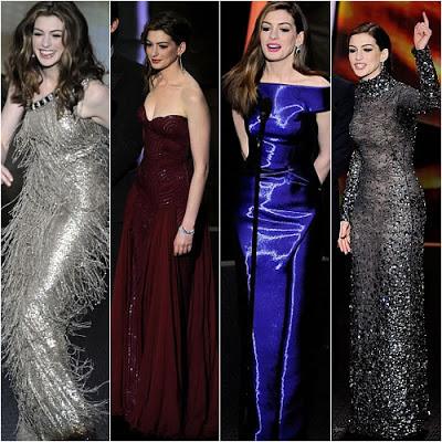 Oscars 2011 Makeup: Anne Hathaway's Nine Looks!