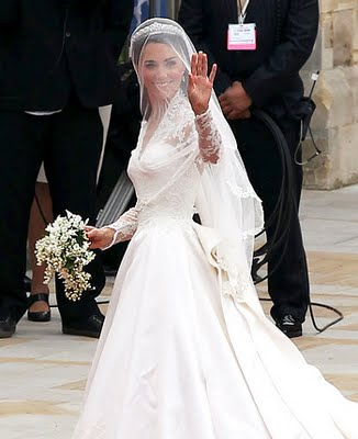 Kate Middleton Marries Prince William In A Sarah Burton For Alexander McQueen Dress