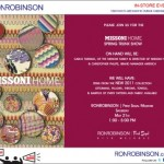 Missoni Home Trunk Show At Ron Robinson in Los Angeles