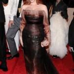 MET Ball 2011 Fashion: Christina Hendricks in Carolina Herrera