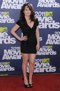 Get The Look: Elizabeth Reaser's Hairstyle At The MTV Movie Awards