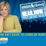 Catch Me On The Martha Stewart Sirius Station Tomorrow!