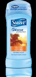 Suave Tropical Paradise Deodorant Review