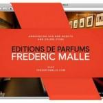Eau de HTML? Frederic Malle's Revamped Website