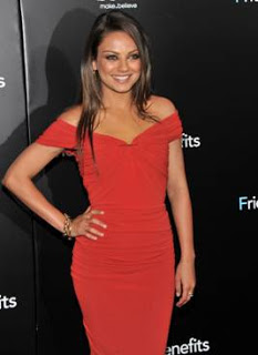 Get The Look: Mila Kunis' Makeup At The Friends With Benefits Premiere