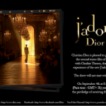 J'Adore Dior Commercial Sneak Peek