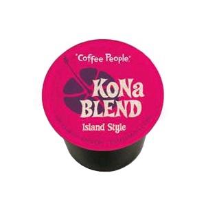 Coffee People K-Cup Kona Blend Island Style