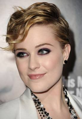 """Get The Look: Evan Rachel Wood At The Premiere of """"Ides Of March"""""""