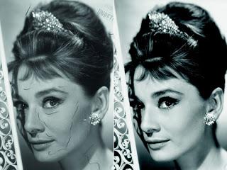 Audrey Hepburn Photoshopped? Destination: Procrastination
